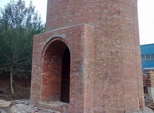 新建磚煙囪